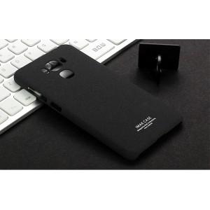 Пластиковый непрозрачный матовый чехол с повышенной шероховатостью для ASUS ZenFone 3 Max ZC553KL