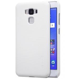 Пластиковый непрозрачный матовый нескользящий премиум чехол для ASUS ZenFone 3 Max ZC553KL