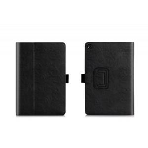 Глянцевый водоотталкивающий чехол книжка подставка с рамочной защитой экрана, крепежом для стилуса, отсеком для карт и поддержкой кисти для ASUS ZenPad 3 8.0 Z581KL