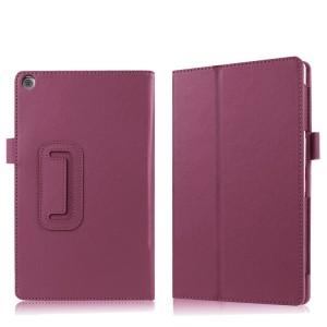 Чехол книжка подставка с рамочной защитой экрана и крепежом для стилуса для ASUS ZenPad 3S 10