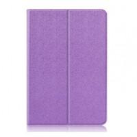 Чехол книжка подставка на непрозрачной поликарбонатной основе для ASUS ZenPad 3S 10  Фиолетовый