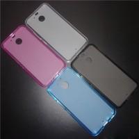 Силиконовый матовый полупрозрачный чехол для HTC 10 evo