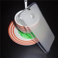 Силиконовый матовый полупрозрачный чехол для HTC 10 evo  Белый