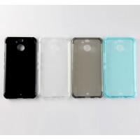 Силиконовый матовый полупрозрачный чехол с улучшенной защитой элементов корпуса для HTC 10 evo
