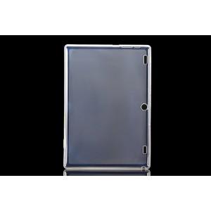 Силиконовый матовый полупрозрачный чехол для Lenovo Tab 2 A10-30/Tab 10 TB-X103F Белый