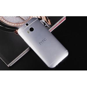 Силиконовый транспарентный чехол для HTC One (M8)