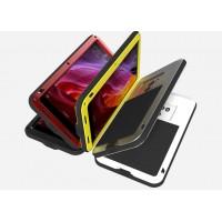 Эксклюзивный многомодульный ультрапротекторный пылевлагозащищенный ударостойкий нескользящий чехол алюминиево-цинковый сплав/силиконовый полимер для Xiaomi Mi Mix
