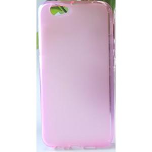 Силиконовый матовый полупрозрачный чехол для HTC One A9S
