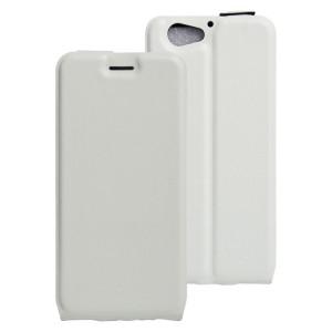 Чехол вертикальная книжка на силиконовой основе на магнитной защелке для HTC One A9S  Белый