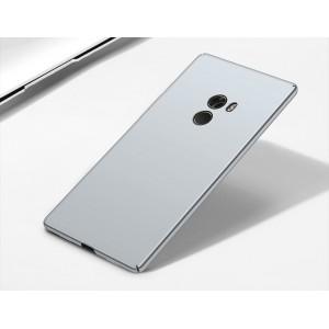 Пластиковый непрозрачный матовый чехол с улучшенной защитой элементов корпуса для Xiaomi Mi Mix Белый