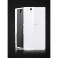 Силиконовый транспарентный чехол для Sony Xperia Z
