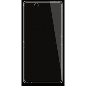 Силиконовый транспарентный чехол для Sony Xperia Z Ultra