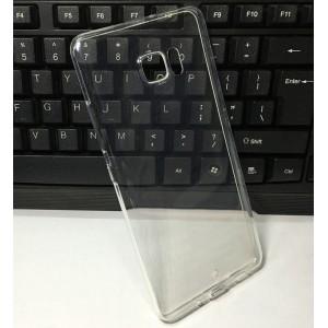 Силиконовый глянцевый транспарентный чехол для HTC U Ultra
