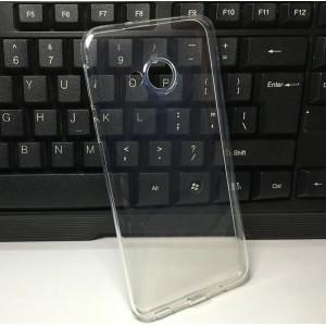 Силиконовый глянцевый транспарентный чехол для HTC U Play