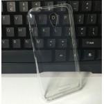 Силиконовый глянцевый транспарентный чехол для Lenovo Vibe B