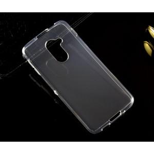 Силиконовый глянцевый транспарентный чехол для Blackberry DTEK60