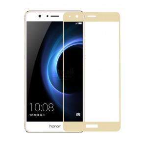 Полноэкранное ультратонкое износоустойчивое сколостойкое олеофобное защитное стекло-пленка для Huawei Honor 8