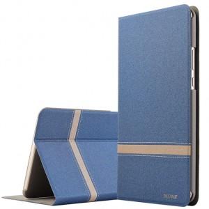 Чехол книжка подставка текстура Линии на непрозрачной поликарбонатной основе для Lenovo Tab 3 8 Plus