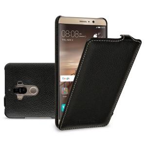 Кожаный чехол вертикальная книжка (премиум нат. кожа) для Huawei Mate 9