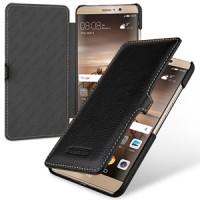 Кожаный чехол горизонтальная книжка (премиум нат. кожа) с крепежной застежкой для Huawei Mate 9