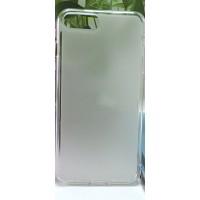 Силиконовый матовый полупрозрачный чехол для Iphone 7 Plus Белый