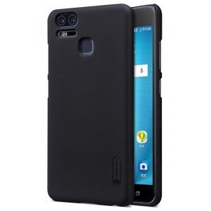 Пластиковый непрозрачный матовый нескользящий премиум чехол с повышенной шероховатостью для Asus ZenFone 3 Zoom