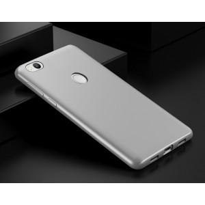 Силиконовый матовый непрозрачный чехол для Xiaomi RedMi 4X  Белый