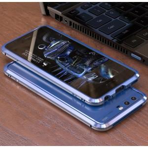 Металлический округлый бампер сборного типа на винтах для Huawei P10