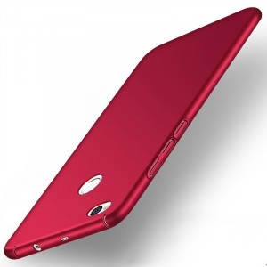Пластиковый непрозрачный матовый чехол с допзащитой торцев для Xiaomi RedMi 4X
