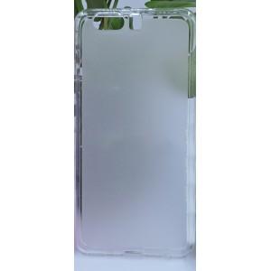 Силиконовый матовый полупрозрачный чехол для Huawei P10 Plus
