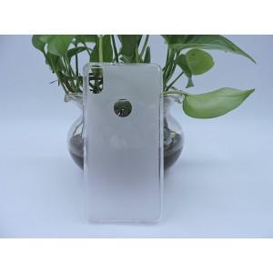 Силиконовый матовый полупрозрачный чехол для BQ Aquaris X5 Plus Белый