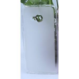 Силиконовый матовый полупрозрачный чехол для HTC U Play