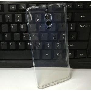 Силиконовый глянцевый транспарентный чехол для Huawei Mate 9 Pro