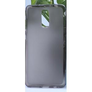 Силиконовый матовый полупрозрачный чехол для Huawei Mate 9 Pro Черный
