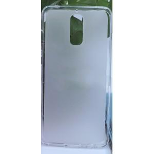 Силиконовый матовый полупрозрачный чехол для Huawei Mate 9 Pro  Белый