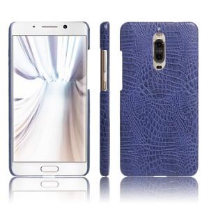 Чехол накладка текстурная отделка Кожа для Huawei Mate 9 Pro  Синий