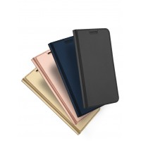 Кожаный чехол портмоне подставка на силиконовой основе с отсеком для карт для Asus ZenFone 3 Zoom