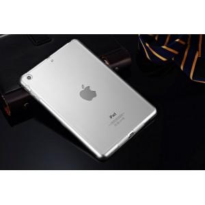 Силиконовый глянцевый полупрозрачный чехол для Ipad Mini/Mini 2/Mini3 Белый
