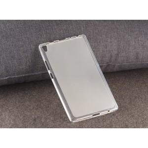 Силиконовый матовый полупрозрачный чехол для Lenovo Tab 3 8 Plus