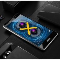 Полноэкранное ультратонкое износоустойчивое сколостойкое олеофобное защитное стекло-пленка для Huawei Honor 6X Черный