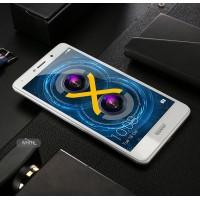 Полноэкранное ультратонкое износоустойчивое сколостойкое олеофобное защитное стекло-пленка для Huawei Honor 6X Белый