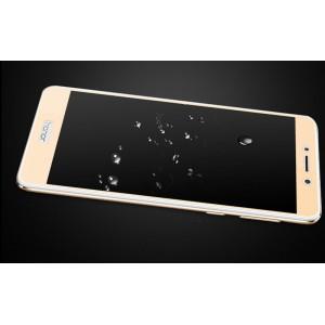 Полноэкранное ультратонкое износоустойчивое сколостойкое олеофобное защитное стекло-пленка для Huawei Honor 6X Бежевый