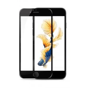 Полноэкранное ультратонкое износоустойчивое сколостойкое олеофобное защитное стекло-пленка для Iphone 6/6s