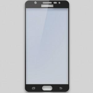 Полноэкранное ультратонкое износоустойчивое сколостойкое олеофобное защитное стекло-пленка для Samsung Galaxy A3 (2016) Черный