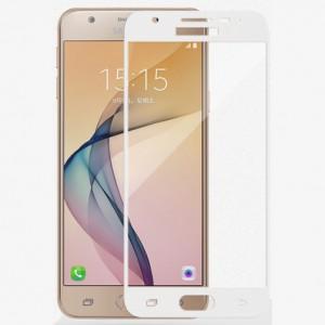 Полноэкранное ультратонкое износоустойчивое сколостойкое олеофобное защитное стекло-пленка для Samsung Galaxy A7 (2017)