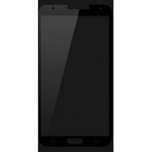 Ультратонкое износоустойчивое сколостойкое олеофобное защитное стекло-пленка для Samsung Galaxy Note 3 Черный