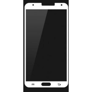Ультратонкое износоустойчивое сколостойкое олеофобное защитное стекло-пленка для Samsung Galaxy Note 3 Белый