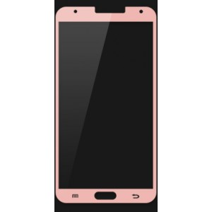 Ультратонкое износоустойчивое сколостойкое олеофобное защитное стекло-пленка для Samsung Galaxy Note 3 Розовый