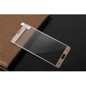 Полноэкранное ультратонкое износоустойчивое сколостойкое олеофобное защитное стекло-пленка для Samsung Galaxy Note 4