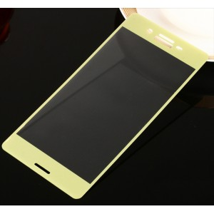Полноэкранное ультратонкое износоустойчивое сколостойкое олеофобное защитное стекло-пленка для Sony Xperia X